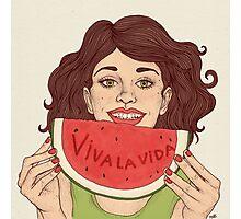 Viva la vida Photographic Print