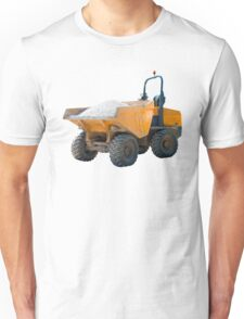 Dumper Truck Scratched and Dented Unisex T-Shirt