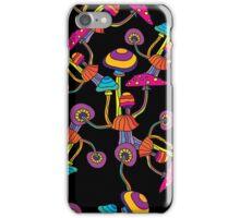 Psychedelic Magic Mushroom Ornament 0004 iPhone Case/Skin