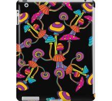 Psychedelic Magic Mushroom Ornament 0004 iPad Case/Skin