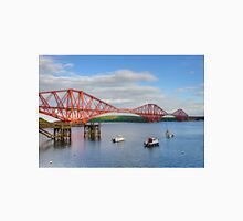 Forth Rail Bridge, South Queensferry. Unisex T-Shirt