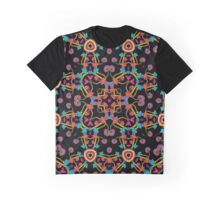 Psychedelic Magic Mushroom Ornament 0005 Graphic T-Shirt