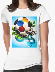 Gol Womens Fitted T-Shirt