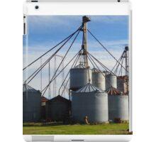 Farm Silos iPad Case/Skin