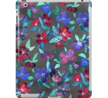 Blossoms in Cherry, Plum and Purple iPad Case/Skin