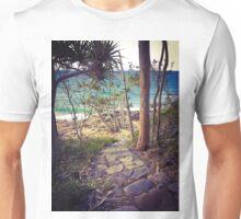 Stairway to the ocean, Noosa, Qld, Australia Unisex T-Shirt