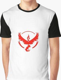 Pokemon Go Team Valor Logo Graphic T-Shirt