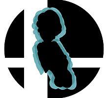 SUPER SMASH BROS: Luigi-Wii U by Manbalcar
