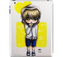 Chibi boy iPad Case/Skin