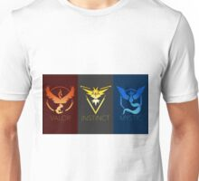 Pokemon Go Teams Mysic Valor Instict Unisex T-Shirt