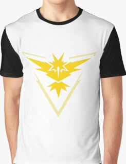 Pokemon Go Team Instinct Logo Graphic T-Shirt