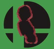 SUPER SMASH BROS: Luigi-3DS T-Shirt