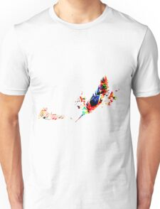 Feather Music Unisex T-Shirt