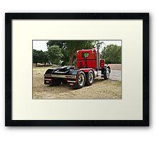 1972 Peterbilt '358' Truck 4 Framed Print