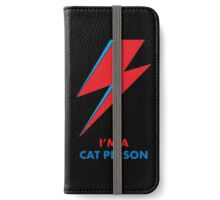 "Original David Bowie ""Cat People"" design iPhone Wallet/Case/Skin"
