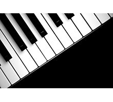 Piano In The Dark Photographic Print