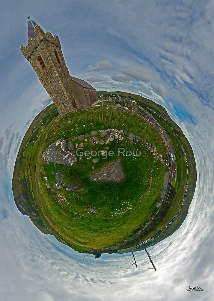 Glencolmcille Church - Sky Out by George Row