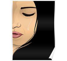 Crying Girl Poster