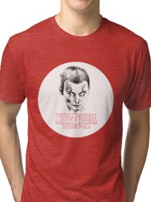 Stranger Things: Eleven 011 Tri-blend T-Shirt