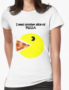 slice of pizza Womens Fitted T-Shirt