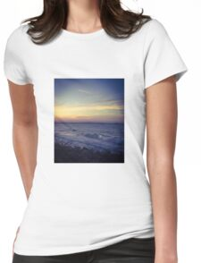 Sunset at the beach, Noosa, Qld, Australia Womens Fitted T-Shirt