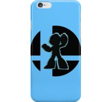 SUPER SMASH BROS: Mega Man-Wii U iPhone Case/Skin