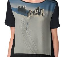 Camelot on the beach Chiffon Top