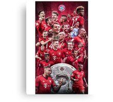 FC Bayern Munich (T-Shirt, Phone Case & more) Canvas Print