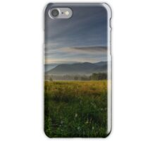 June Morning in Cades Cove HDR iPhone Case/Skin