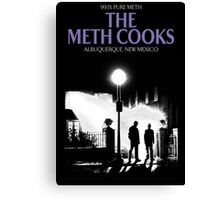 The meth cooks Canvas Print