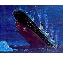 Titanic Sinking Photographic Print