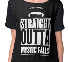Straight outta Mystic Falls Chiffon Top