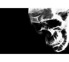 Glow Skull Photographic Print