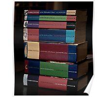 Harry Potter Books Poster