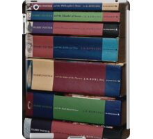 Harry Potter Books iPad Case/Skin