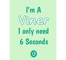 Internet Vine Joke Photographic Print