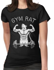 Gym Rat Womens Fitted T-Shirt