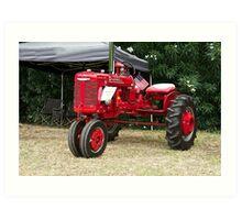 Vintage McCormick Farmall Tractor Art Print