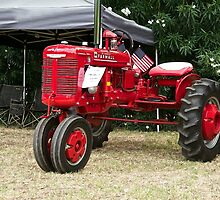 Vintage McCormick Farmall Tractor by DaveKoontz
