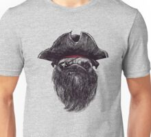 PIRATE the dog  Unisex T-Shirt