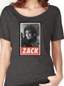 (FINAL FANTASY) Zack Women's Relaxed Fit T-Shirt