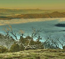 Looking west from Mount Murray by Kevin McGennan