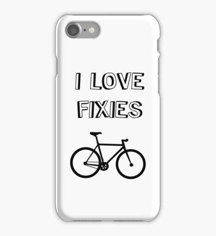 I love FIXIES iPhone Case/Skin