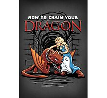 How to Chain Your Dragon Photographic Print