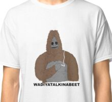 smoking yeti  Classic T-Shirt