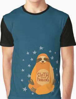 Sloth Your Problems Graphic T-Shirt