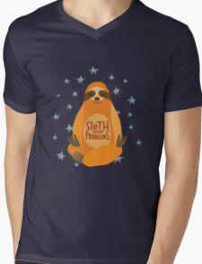 Sloth Your Problems Mens V-Neck T-Shirt