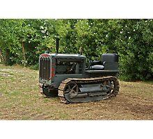 Vintage Caterpillar Tractor 1 Photographic Print