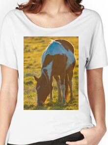 Backlit Horse Women's Relaxed Fit T-Shirt