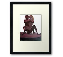 Lovers by Diego Manuel  Framed Print